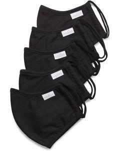 van Laack-Community-Maske schwarz (5 Stück)